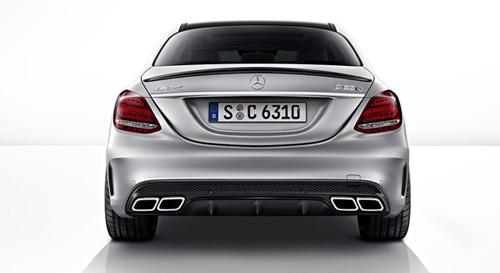 Mercedes-Benz C63 AMG và C63 AMG S trình làng - 12