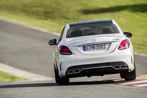 Mercedes-Benz C63 AMG và C63 AMG S trình làng - 4