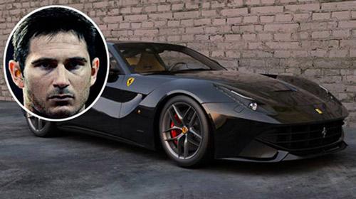 Frank Lampard là tín đồ của siêu xe Ferrari - 3