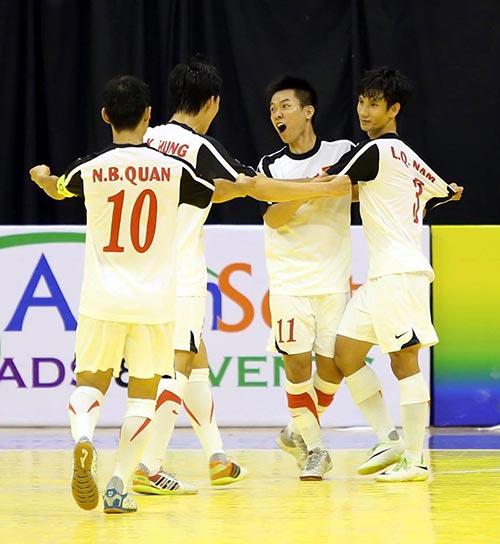 ĐT futsal Việt Nam thua đáng tiếc trước Úc - 1