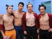 """Phim - Trấn Thành khoe bụng """"6 múi"""" với Việt Hương"""