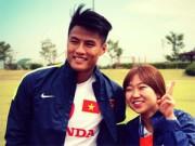 """Tin bên lề bóng đá - """"Hotboy"""" Olympic VN được hâm mộ như ca sỹ Hàn Quốc"""