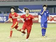 """Bóng đá - Đội tuyển nữ Việt Nam - Thái Lan: Quyết """"đòi nợ"""""""