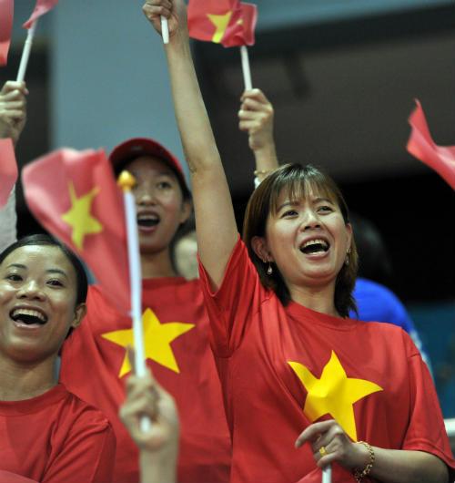 Phóng sự ảnh về ngày thi đấu khó quên của Thể thao VN - 4