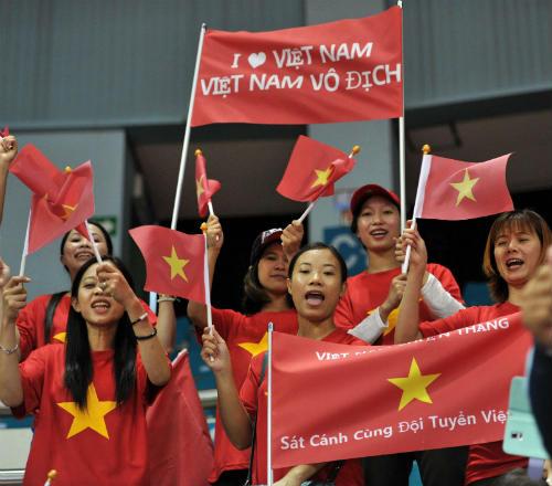 Phóng sự ảnh về ngày thi đấu khó quên của Thể thao VN - 6