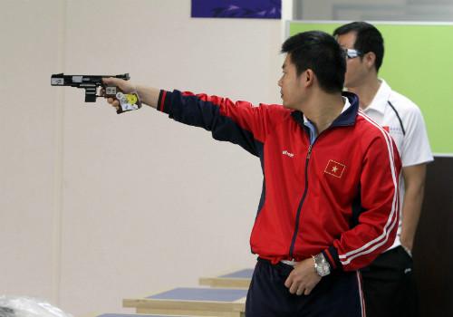 Phóng sự ảnh về ngày thi đấu khó quên của Thể thao VN - 11