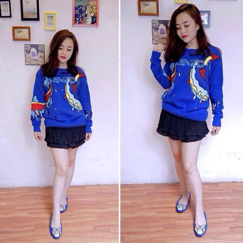 Áo len đẹp rút hầu bao của cô gái Hà Thành - 2