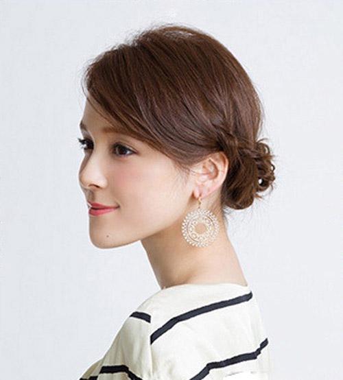 3 kiểu tóc đơn giản giúp phái đẹp thêm yêu kiều - 4
