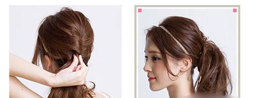 3 kiểu tóc đơn giản giúp phái đẹp thêm yêu kiều - 9