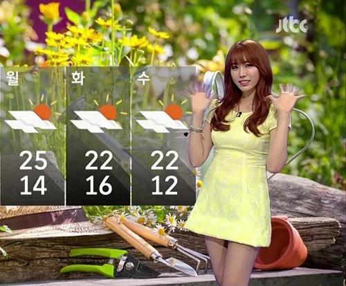 """""""Người đẹp thời tiết"""" Hàn Quốc táo bạo chạm ngõ điện ảnh - 1"""
