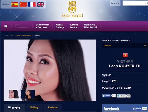 Nguyễn Thị Loan chưa được cấp phép dự thi Miss World - 1