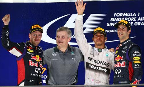 Singapore GP, Chấm điểm tay đua (P1): Xuất sắc như Hamilton - 2