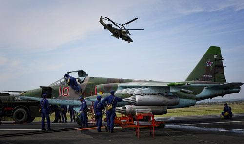 Ảnh: Cuộc tập trận quy mô lớn của Nga ở Viễn Đông - 1
