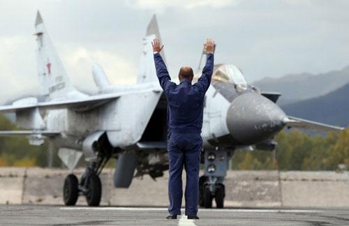 Ảnh: Cuộc tập trận quy mô lớn của Nga ở Viễn Đông - 5