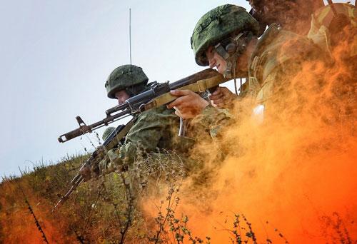 Ảnh: Cuộc tập trận quy mô lớn của Nga ở Viễn Đông - 7