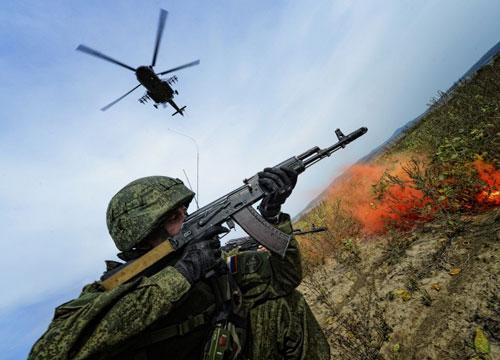 Ảnh: Cuộc tập trận quy mô lớn của Nga ở Viễn Đông - 8