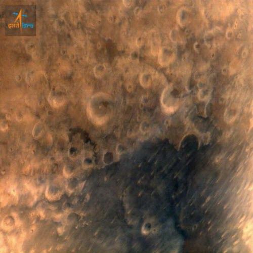 Ảnh chụp Sao Hỏa từ vệ tinh của Ấn Độ - 2
