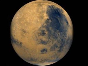 Ảnh chụp Sao Hỏa từ vệ tinh của Ấn Độ