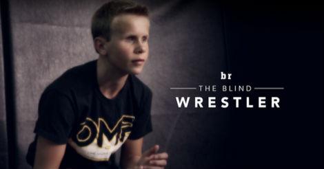 Nghị lực phi thường của đô vật nhí 13 tuổi bị mù - 1