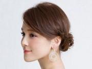 3 kiểu tóc đơn giản giúp phái đẹp thêm yêu kiều