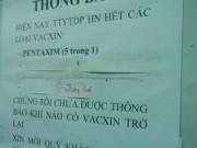 Tin tức trong ngày - Hà Nội: Lại cháy vắc xin dịch vụ 5 trong 1