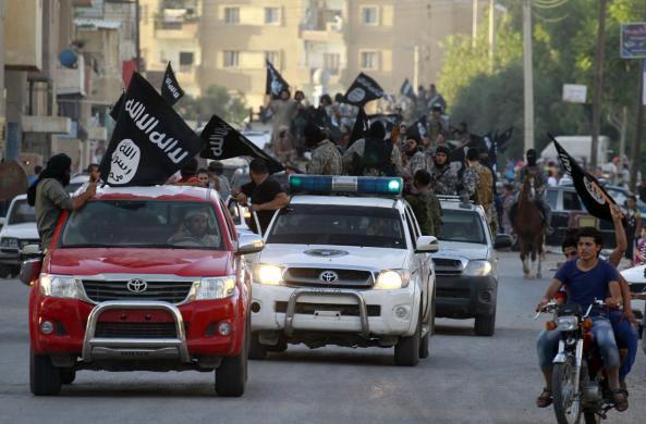 Ảnh: Bên trong sào huyệt phiến quân IS ở Syria - 9