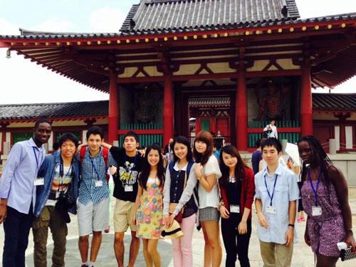 Nữ sinh Việt chia sẻ về Hội thảo Hòa bình tại Nhật - 2