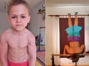 Phi thường - kỳ quặc - Video: Choáng váng với cơ bắp của cậu bé 9 tuổi