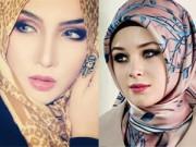 Làm đẹp - Vẻ đẹp tuyệt vời của các mỹ nhân Hồi giáo