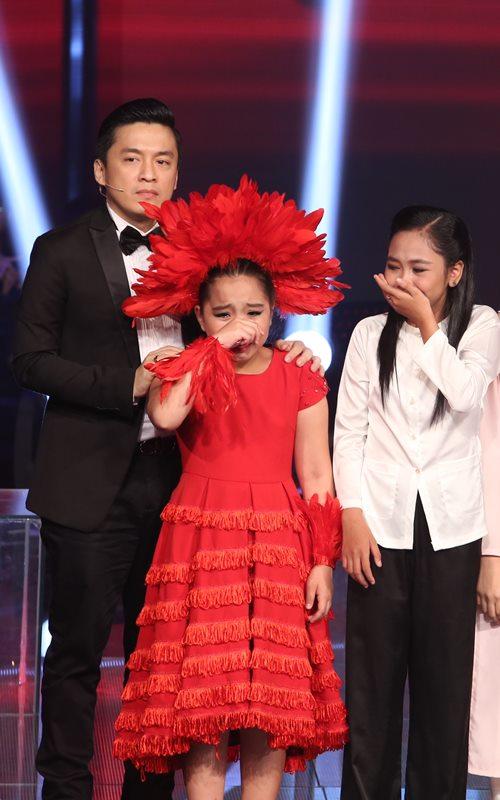 Cô bé quy y dừng bước ở Giọng hát Việt nhí - 12