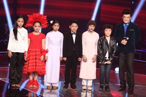 Cô bé quy y dừng bước ở Giọng hát Việt nhí - 1