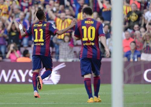 "Barca - Granada: ""Song sát"" rực sáng - 1"