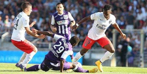 Toulouse - PSG: Bộ mặt nhợt nhạt - 1