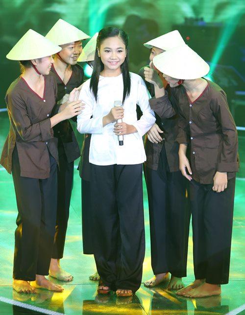 Cô bé quy y dừng bước ở Giọng hát Việt nhí - 11
