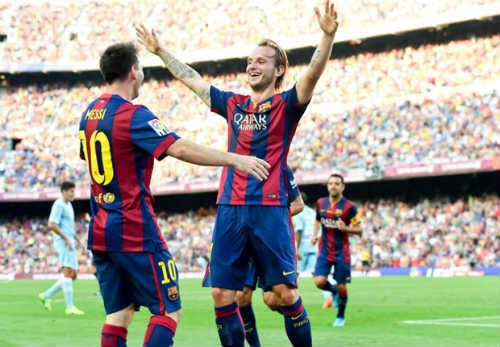 Luis Enrique so sánh Messi và Ronaldo - 1