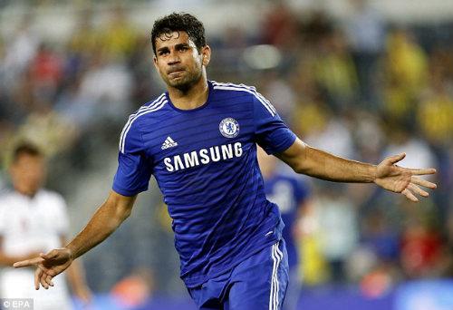 Mourinho lo lắng với chấn thương của Diego Costa - 1