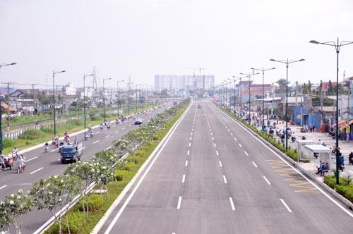 Đại lộ nội đô đẹp nhất Sài Gòn thông xe thêm 1,4km - 1