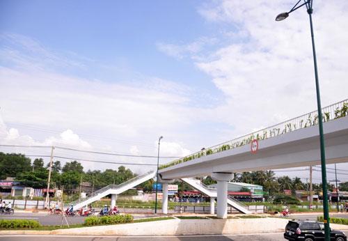 Đại lộ nội đô đẹp nhất Sài Gòn thông xe thêm 1,4km - 9