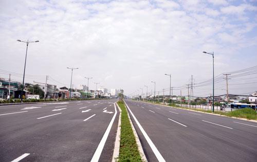 Đại lộ nội đô đẹp nhất Sài Gòn thông xe thêm 1,4km - 2