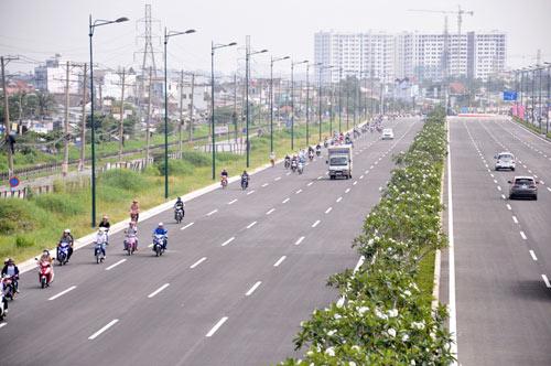 Đại lộ nội đô đẹp nhất Sài Gòn thông xe thêm 1,4km - 4