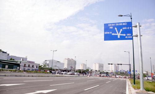 Đại lộ nội đô đẹp nhất Sài Gòn thông xe thêm 1,4km - 7