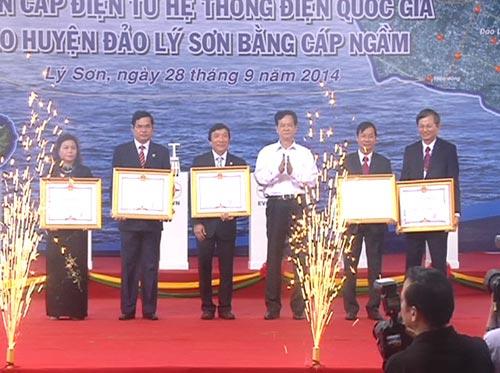 Điện cáp ngầm ra đảo Lý Sơn - 2