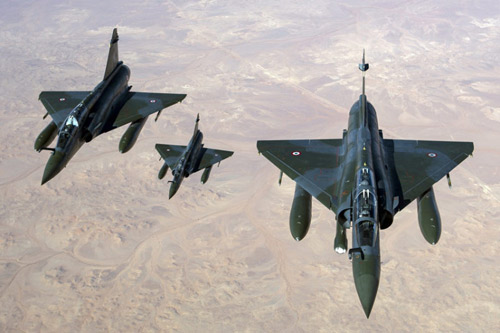 """Khám phá """"đàn chim sắt"""" tham gia không kích IS - 9"""