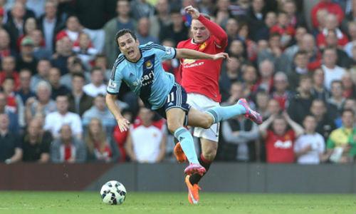 Hậu thẻ đỏ, Rooney trao cơ hội cho Mata - 1