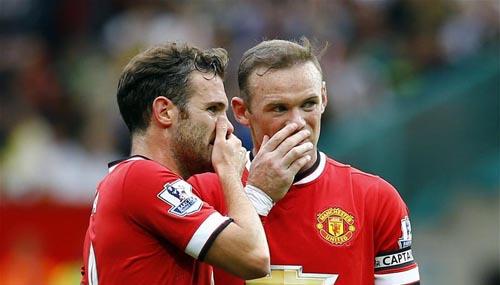 Hậu thẻ đỏ, Rooney trao cơ hội cho Mata - 2