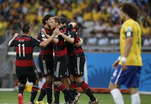 """Brazil muốn """"rửa hận"""" với Đức - 1"""