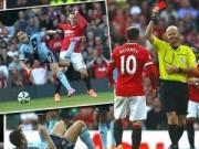 Bóng đá - Phạm lỗi thô thiển, Rooney nhận thẻ đỏ trực tiếp