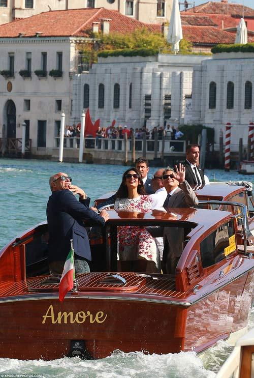 """Toàn cảnh lễ cưới """"bom tấn"""" của George Clooney - 3"""