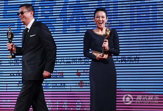Triệu Vy, Chương Tử Di thắng đậm giải Bách Hoa - 3