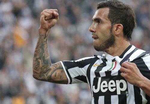 Serie A sau V5: Juventus bay cao cùng Tevez - 1